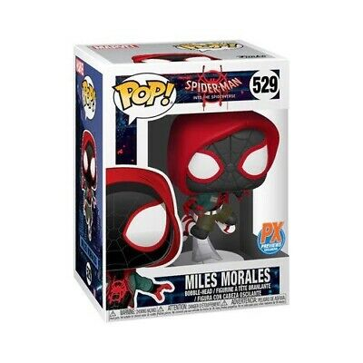 Funko Pop! Spider-Man Miles Morales PX Exclusive Trusted Seller Presell