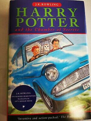 Harry Potter And The Chamber Of Secrets Book Hardcover Raincoast Canadian 1st
