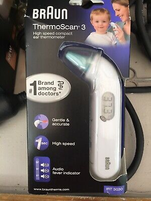 Braun Thermoscan 3 Compact Ear Thermometer IRT3030