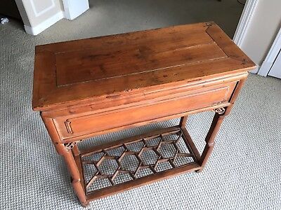 Antique Chinese Elm Tea Table