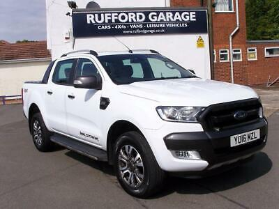 Ford Ranger 3.2TDCi ( 200PS ) 4x4 Auto Wildtrak Double Cab Pick Up