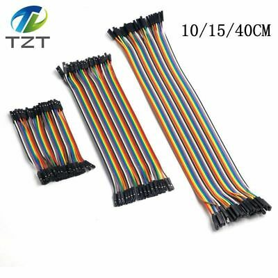And Jumper Wire Dupont Cable Arduino Diy Kit TZT Female To Female for 15cm/40cm
