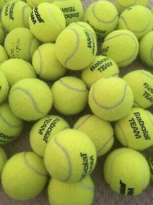 20 Used Top Branded Tennis Balls
