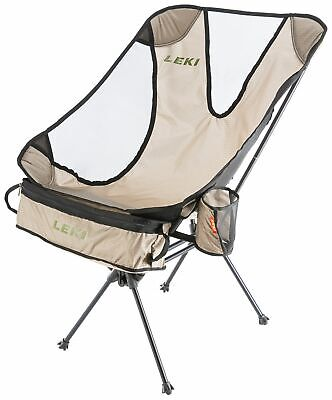Leki Folding Chair Chiller Chair,Camping Fishing Stool Director's Lounger