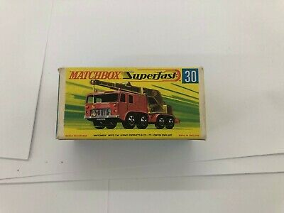 Matchbox Superfast No 30 8 wheel Crane