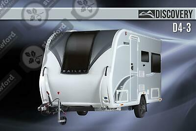 Bailey Discovery D4-3, NEW, 2020, Touring Caravan