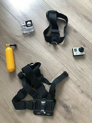 gopro hero 3 + silver Edition With Some Genuine gopro Accssories & Case