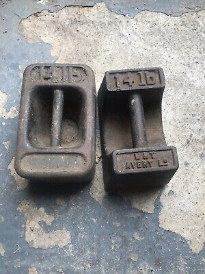 Door Stop Vintage 14lb Weights X 2 COLLECTION IN PERSON ONLY