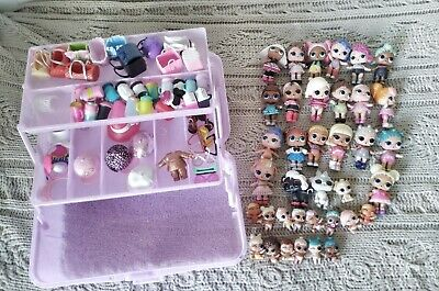 Job lot wholesale LOL doll collection,pets,lil sisters, accessories and box (UK)