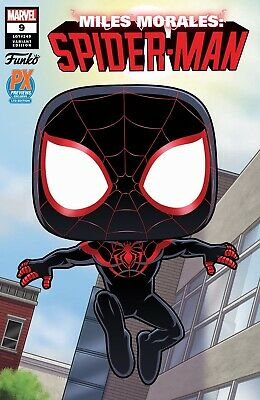 Miles Morales Spider-Man #9 Funko Px Previews Exclusive In Stock