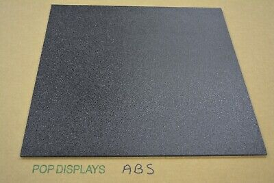"Black ABS Sheet 1/8"" Plastic  Choose A Size"