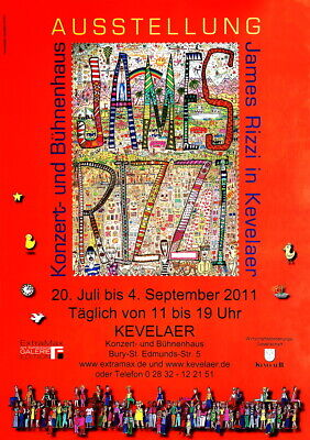 James Rizzi ▪ Galerie Edition F & Extra Max GmbH ▪  Ausstellung in Kevelar 2011