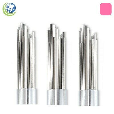 3X Orthodontic Stainless Steel Straight Lengths .032 Wire SS 14'' Lengths 20 Pk