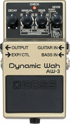 Boss AW-3 Dynamic Wah Guitar Effects Pedal AW3