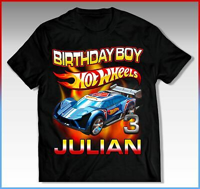 HOT WHEELS Birthday Shirt HOT WHEELS Birthday T-Shirt HOT WHEELS