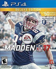 Madden NFL 17 2017 Sony Playstation 4 PS4 Game Brand New Sealed USA