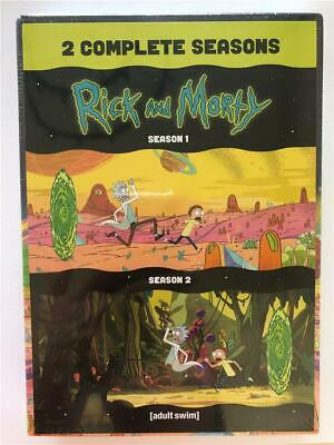 NEW DVD Rick And Morty Seasons 1 & 2 Complete