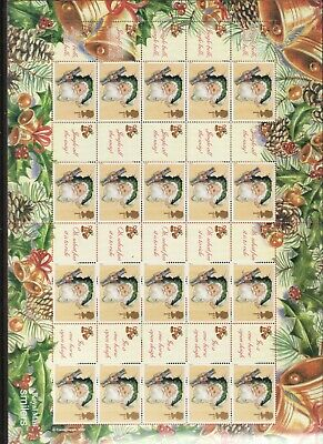 Gb Generic Sheets Unused - 2002 Christmas Ls10