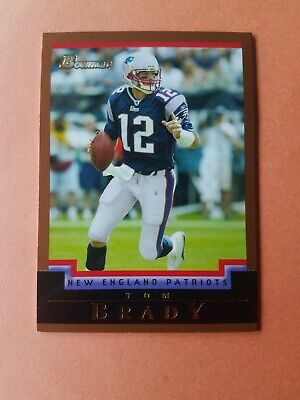 2004 Bowman Gold #106 Tom Brady New England Patriots Football Card