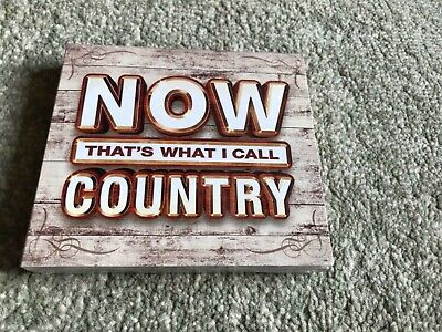 Now That's What I Call Country (3Cd 2017) New & Sealed