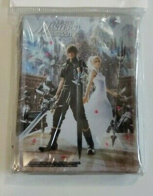 Final Fantasy Fftcg Masters 2019 Sleeves New Sealed 60 Pack Official