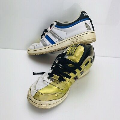 Adidas Superstar Star Wars C3PO Edition Gold Color Size 12