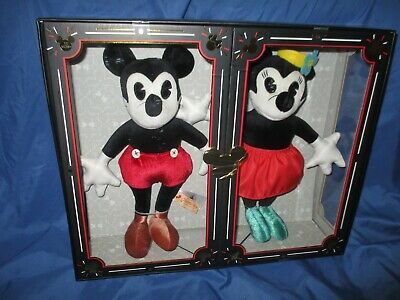 "MICKEY & MINNIE MOUSE Disney Parks Exclusive 14"" Plush Set Limited Release"