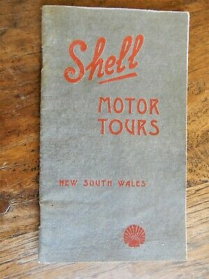 SHELL. (Firm).     Shell Motor Tours New South Wales. 1928 or before.