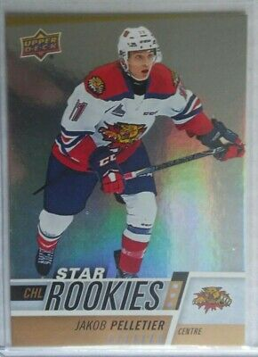 2017-18 Upper Deck CHL Star Rookies Rainbow Jakob Pelletier