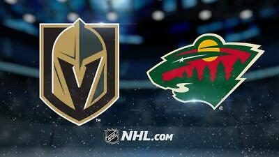 2 Tickets Sec 210 Row C Vegas Golden Knights VS Minnesota Wild 12/17