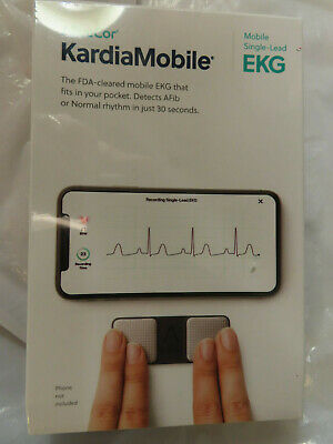 Alivecor Kardia Mobile Single-Lead Ekg Ac-009 Brand New, Factory Sealed