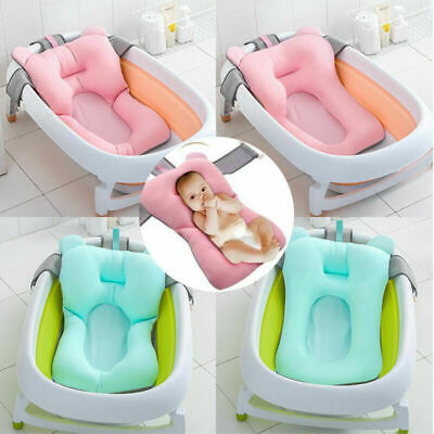 Toddler Baby Bath Tub Pillow Hammock Pad Infant Breathable Bathtub Cushion Net