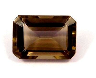 Treated Faceted Smoky Loose Gemstone16 CT 17x12 mm NG16126