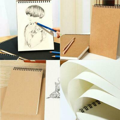 30 Sheets A5 Paper Sketch Book Set For Watercolor Drawing Art Sketchbook Cr Top