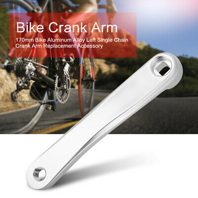 2MTB Road Bike Crank Arm Left Right Hand 170mm For Bicycle Parts Adaptor