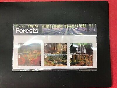 GB 2019 FORESTS PRESENTATION PACK No.574 Royal Mail Issued 13.8.2019