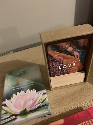 Rumi - Affirmation Card Set - Quotes And A Mini Booklet A Grateful Heart