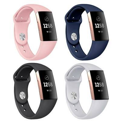 Clever ArmbandUhr Band Silikon Two Size Band Für Fitbit Charge 3 Attractive