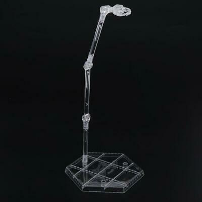 Clear Doll Stands Kids Toys 1/6 Dolls Display Holder for 3.9''-12.9'' Dolls