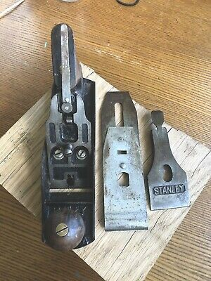 Vintage Stanley Bailey No.4 Wood Plane Made in England Free Post & Packing