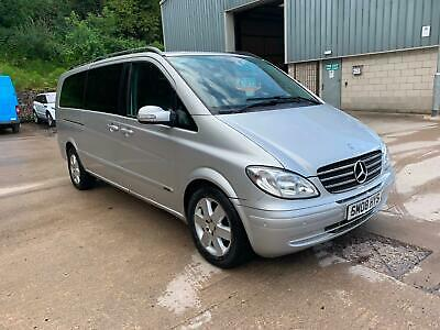 Mercedes-Benz VIANO XLONG leather interior Mini bus Tel Lee 07780161585