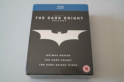 Sealed and Unopened The Dark Knight Trilogy [UK] Bluray