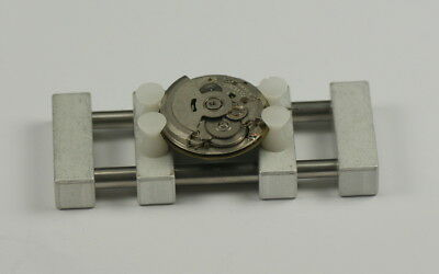 Watch movement holder ALUMINIUM SPRING ACTION Watchmakers case vice repair tool