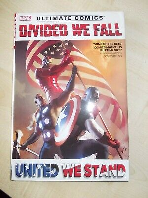 'Divided We Fall' Ultimate Comics oversized hardcover graphic novel