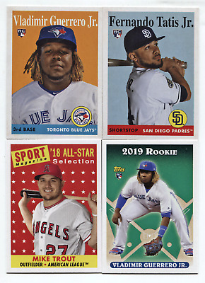 2019 Topps Archives Complete Master Set #1-330 w/30 SP Guerrero,Tatis,Alonso+