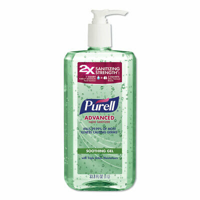PURELL® Advanced Hand Sanitizer Soothing Gel  Fresh Scent with Aloe and Vitamin