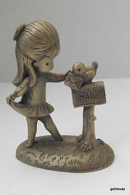 """Hallmark Little Gallery 1980 Joan Walsh Anglund """"Happy Thoughts"""" 2"""""""