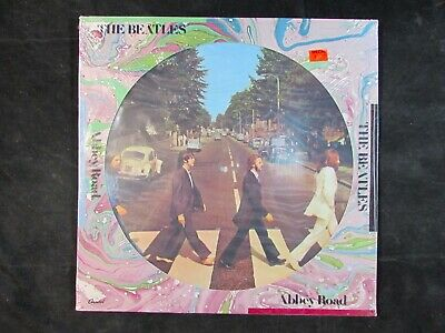 THE BEATLES Abbey Road CAPITOL US ORIGINAL Picture Disc LP SEAX-11900 *SEALED*