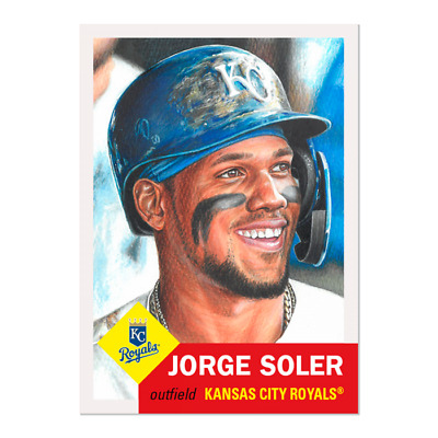 2019 Topps Living Set 228 Jorge Soler Kansas City Royals (Pre-Sale)