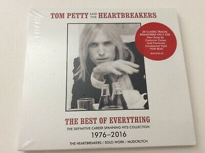 Tom Petty &the Heartbreakers-The Best of Everything 1976-2016 CD Digipak-Refugee